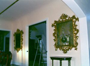Twin mirror installation for a symmetrical beauty