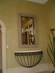 Mirror hanging for Potomac, MD